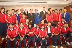 Vietnams Olympic Team Send off Ceremony Held