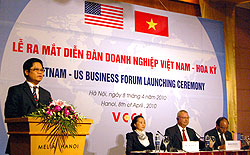 Vietnam-U.S. Business Forum: Official Information Channel for Business Community