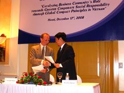 VCCI, UNDP Promotes Corporate Social Responsibility in Vietnam