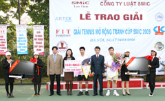 Artex Securities Sponsors for Open Tennis Tournament SMIC Cup 2009