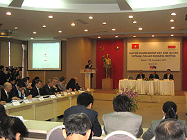 Vietnam-Poland Enhancing Economic, Cultural and Sport Cooperation