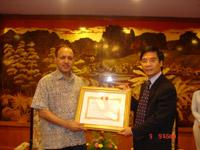 VCCI Appreciates Former Director of Action Aid