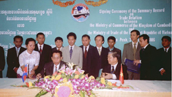 Vietnam-Cambodia Trade Ties Effectively Exploiting Advantages