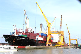 HCM City Ports Face Stiff Competition