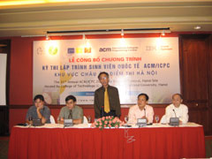 Vietnam Hosts 31st ACM/ICPC Contest