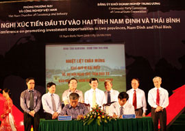 Nam Dinh, Thai Binh Provinces: Ready to Welcome Investors