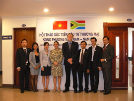 VIETNAM – SOUTH AFRICA Trade Promotion