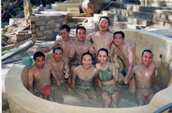 Mineral Mud Bath – Enjoying Relax and Pleasure
