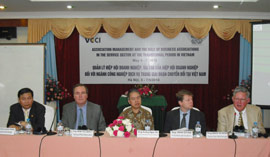 VCCI Holds Training Course on Business Association Management