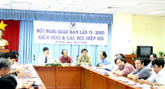 VCCI HCM City Hosts Meeting with Business Associations