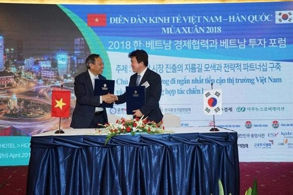 Hội nghị thượng đỉnh kinh doanh Việt Nam – Hàn Quốc