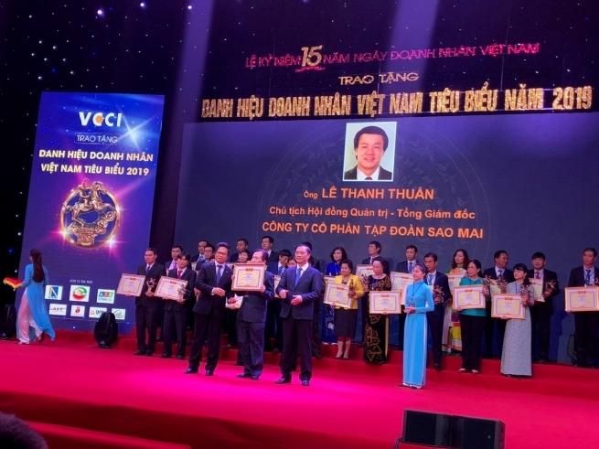 Sao Mai Group CEO Named Outstanding Entrepreneur 2019