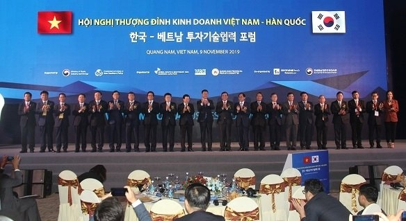 Vietnam - RoK Business Summit Opens in Quang Nam