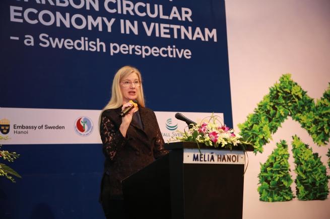 Thúc đẩy nền kinh tế tuần hoàn ít phát thải carbon từ kinh nghiệm của Thụy Điển