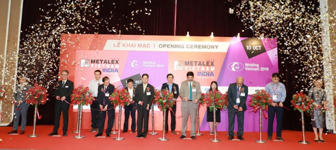 15,955 Industrialists United at METALEX Vietnam 2019
