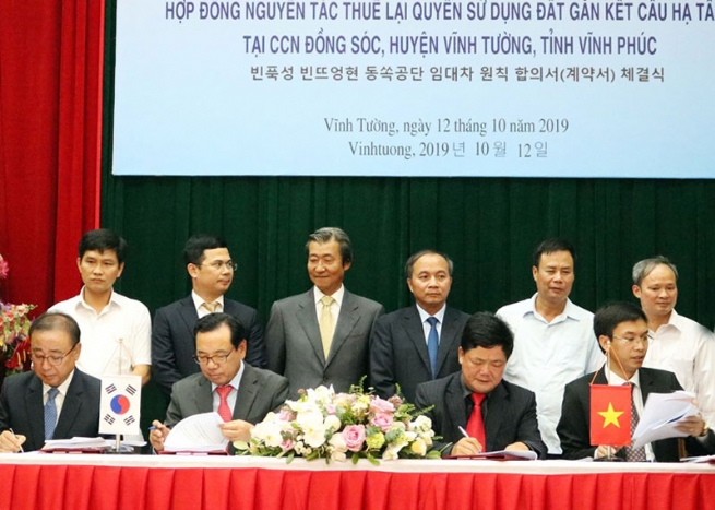 Dong Soc Industrial Cluster Welcomes US$880-Mln South Korean Factory