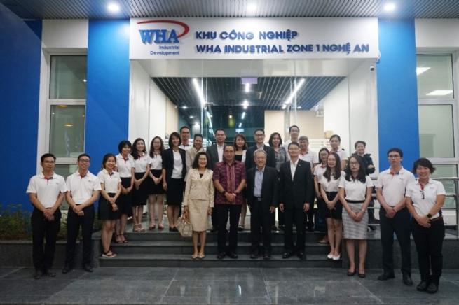 Thai Ambassador Pays Working Visit to WHA Industrial Zone 1