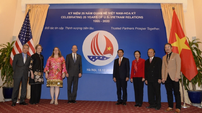 Vietnam-U.S. Relations: 25 Years of Substantive and Effective Development