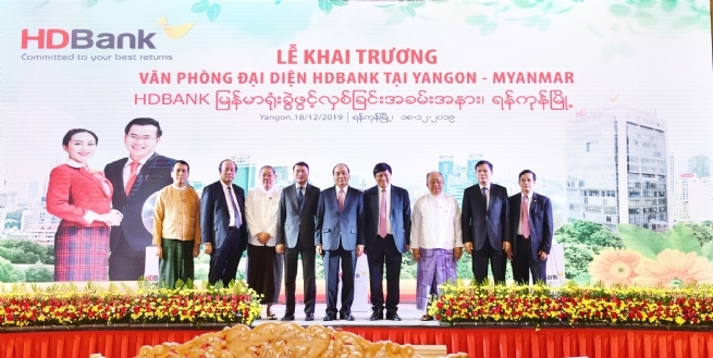 HDBank Opens Myanmar Rep Office