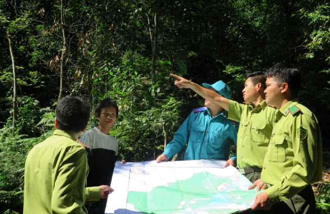 Kon Ray Forestry Co., Ltd Sharing Benefits, Linking with the Community