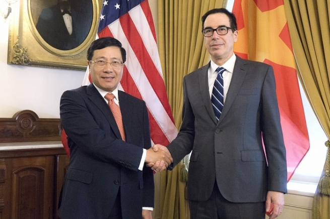 U.S. Supports Stronger Trade and Investment Ties with VN