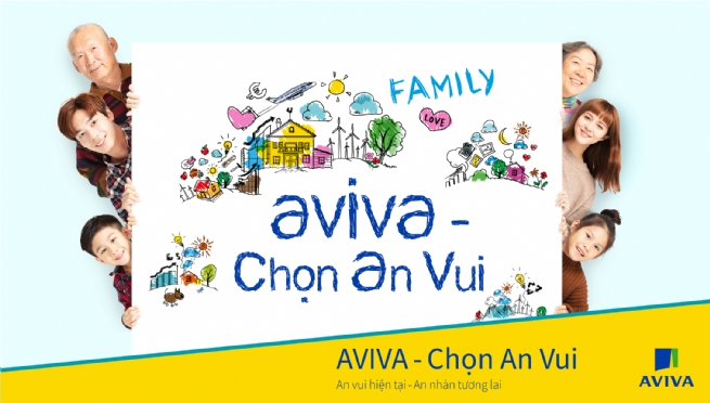 "Choose ""Happiness"" with New Whole Life Universal Life Product from Aviva Vietnam"