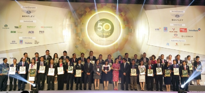 Forbes Vietnam Names 50 Best Listed Companies in 2019