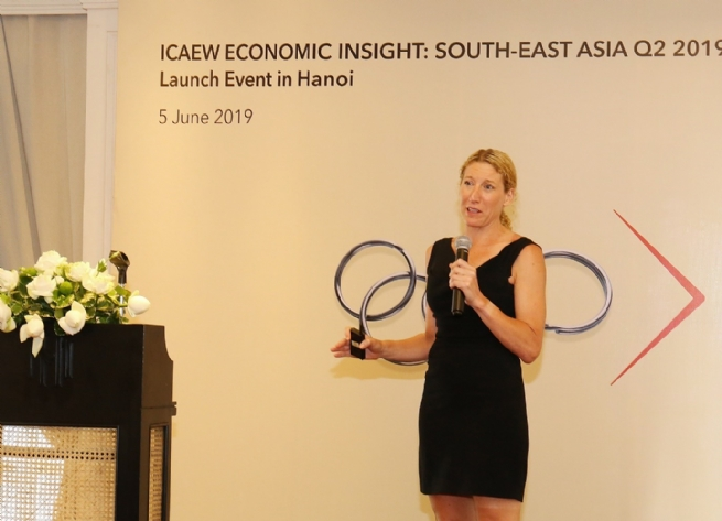 ICAEW Forecasts Vietnam's GDP Growth at 6.7% in 2019