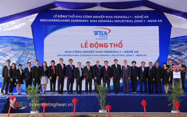 WHA Industrial Zone 1 - Nghe An: Firm Statement to Vietnam and Southeast Asian Region