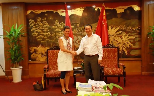 Cooperation in Plastic Waste Reduction in Vietnam