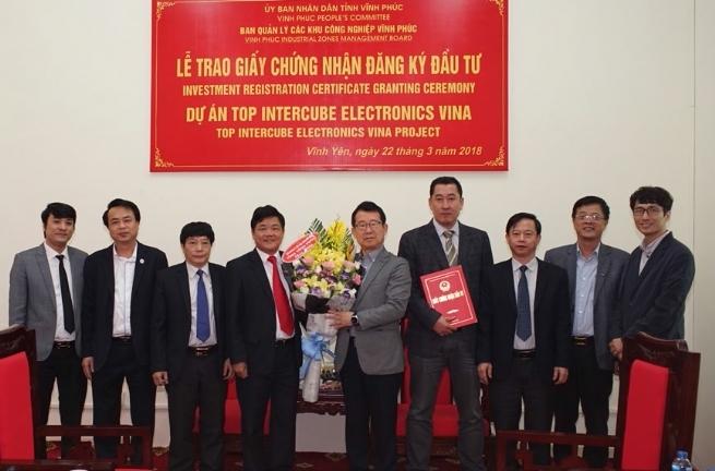 Vinh Phuc Industrial Parks Authority Promoting Connectivity Role