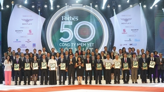 Forbes Honored Top 50 Listed Vietnamese Companies