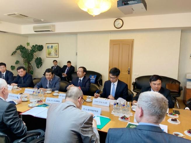 Vietnam Customs, Federal Customs Service of Russia Strengthen Cooperation