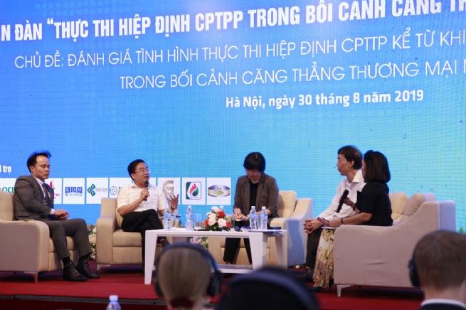 How to Take Advantage of CPTPP amid U.S.-China Trade Tension?