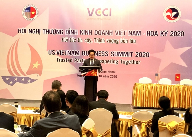 VCCI President: Vietnam-US Comprehensive Partnership to further Develop in Effective, Sustainable Manner