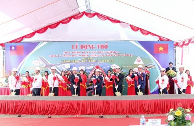 VPIC 1 Starts Construction on Factory 6 in Ba Thien 2 IP