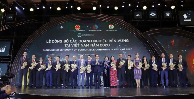 Top 100 Sustainable Businesses Honored