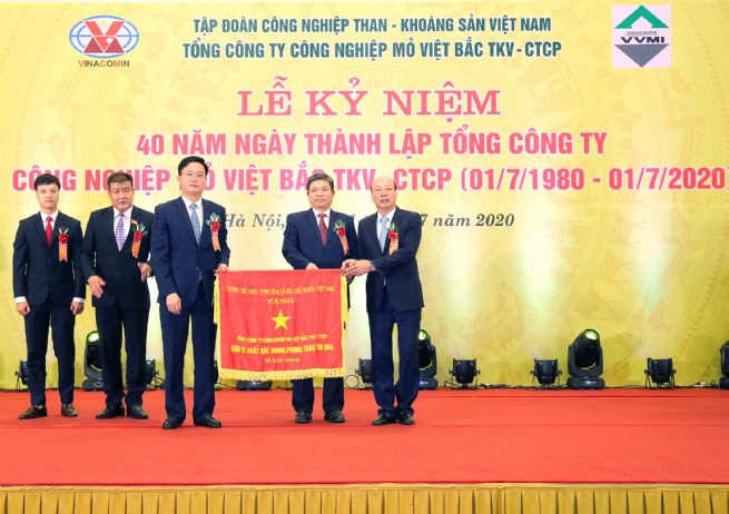 Vinacomin - Viet Bac Mining Industry Holding Corp.: 40 Years of Solid Development