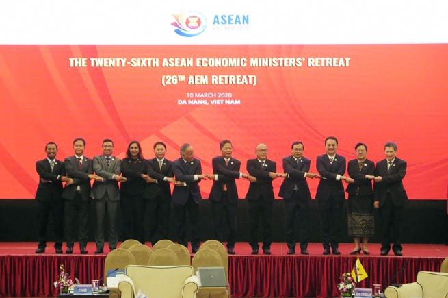 ASEAN Economic Ministers Discuss Bloc' Economic Cooperation Agenda amid COVID-19 Outbreak