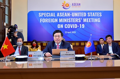 ASEAN, US Should Work together to Ensure Supply Chains amid COVID-19 Pandemic
