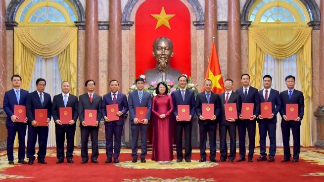 Twelve New Ambassadors Appointed