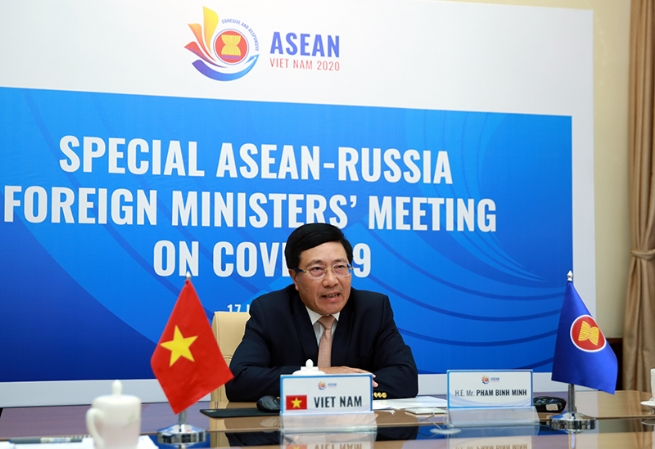 ASEAN, Russia Should Work Together to Reinforce Open, Rule-Based Architecture