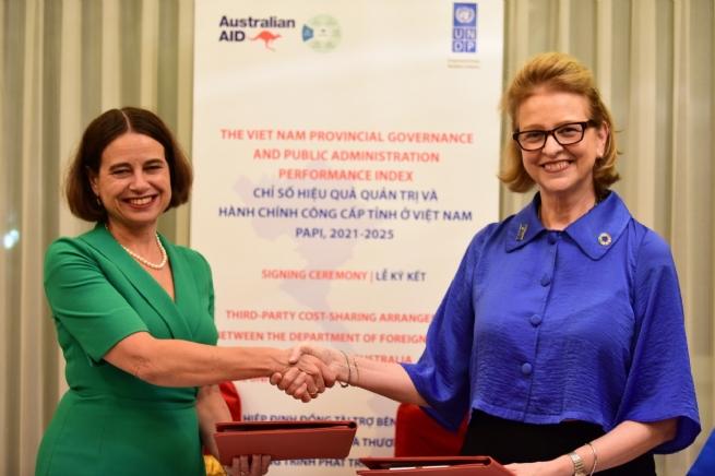 Australia, UNDP Renew Partnership to Promote Public Governance in Vietnam