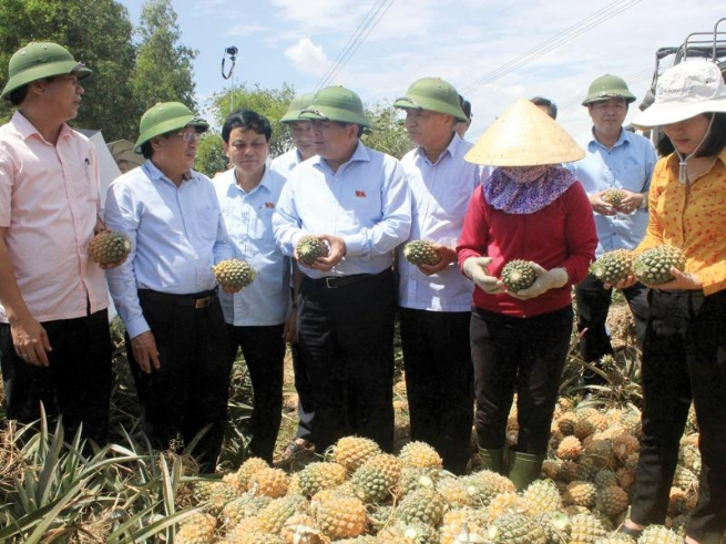 Quang Tri Restructuring Agriculture, Speeding Up Rural Development