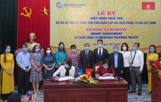 WB Aids Vietnam to Enhance Capacities to Cope with Covid-19