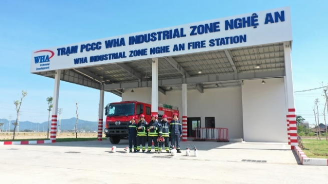 WHA Industrial Zone 1 - Nghe An: An Attractive Destination for Foreign Investors