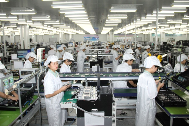 Strong FDI Flows into Vietnam