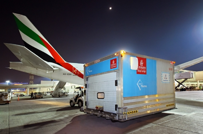 Emirates SkyCargo - First Air Cargo Carrier to Deliver 50 Mln Doses of COVID-19 Vaccines to More Than 50 Destinations