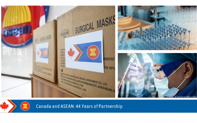 Canada, ASEAN Join Hands in Response to COVID-19 Pandemic