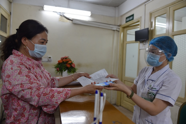 Health Insurance Card on VssID App Accepted at Medical Facilities